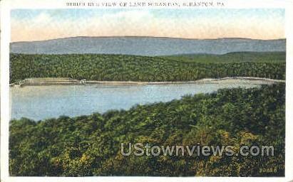 Lake Scranton - Pennsylvania PA Postcard