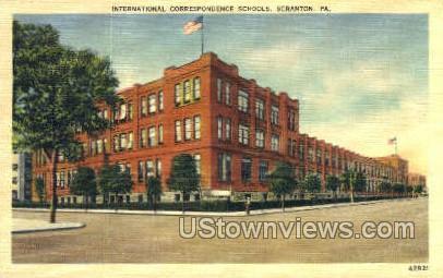 Intern Correspondence Schools - Scranton, Pennsylvania PA Postcard