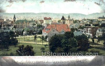 Central City Scranton - Pennsylvania PA Postcard