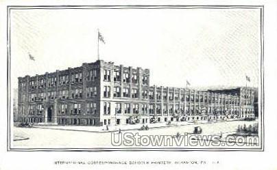 Inter. Correspondence Schools - Scranton, Pennsylvania PA Postcard