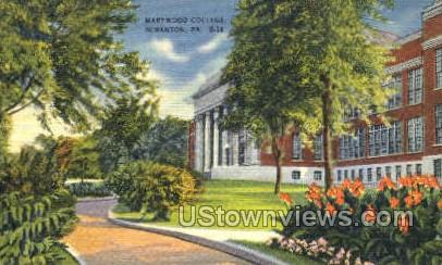 Marywood College - Scranton, Pennsylvania PA Postcard