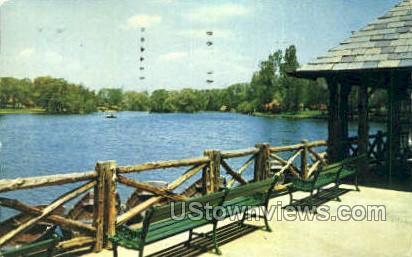 Verona Park - Scranton, Pennsylvania PA Postcard