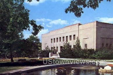 Everhart Museum & Lake - Scranton, Pennsylvania PA Postcard