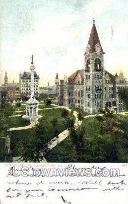Court House, Scranton - Pennsylvania PA Postcard