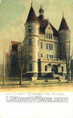 Inter Correspondence Schools - Scranton, Pennsylvania PA Postcard