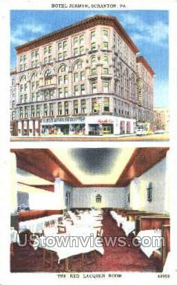 The Red Lacquer Room - Scranton, Pennsylvania PA Postcard