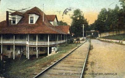 Park Hotel - Shamokin, Pennsylvania PA Postcard