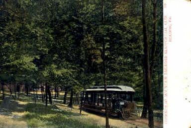 Klapperthal Glen - Reading, Pennsylvania PA Postcard