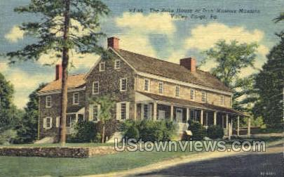 Iron Masters Mansion - Valley Forge, Pennsylvania PA Postcard