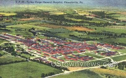 Valley Forge General Hospital - Pennsylvania PA Postcard