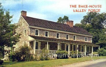 The Bake House - Valley Forge, Pennsylvania PA Postcard