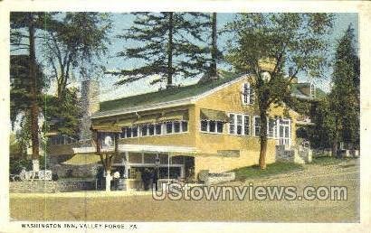 Washington Inn - Valley Forge, Pennsylvania PA Postcard