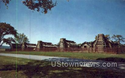 Continental Army Hut - Valley Forge, Pennsylvania PA Postcard