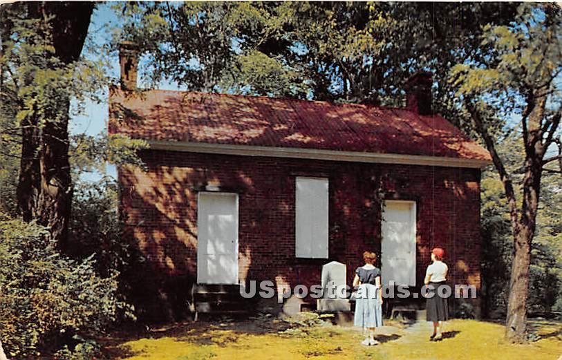 First Crematory in the United States - Washington, Pennsylvania PA Postcard