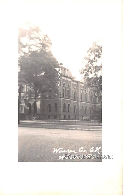 Warren Co Court House - Pennsylvania PA Postcard