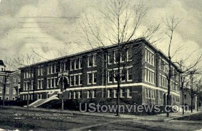 New High School Bldg - Washington, Pennsylvania PA Postcard