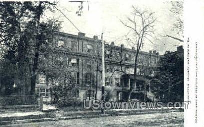 Washington Seminary - Pennsylvania PA Postcard