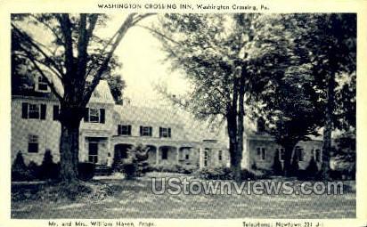 Washington Crossing Inn - Pennsylvania PA Postcard