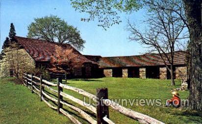 Thompson Neely House - Washington, Pennsylvania PA Postcard