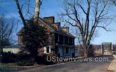 Old Ferry Inn - Washington, Pennsylvania PA Postcard