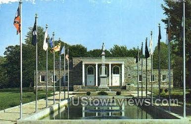 Washington Crossing Memorial - Pennsylvania PA Postcard
