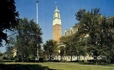 Washington Jefferson College - Pennsylvania PA Postcard