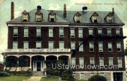 Washington Hospital - Pennsylvania PA Postcard