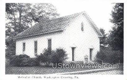 Methodist Church - Washington, Pennsylvania PA Postcard