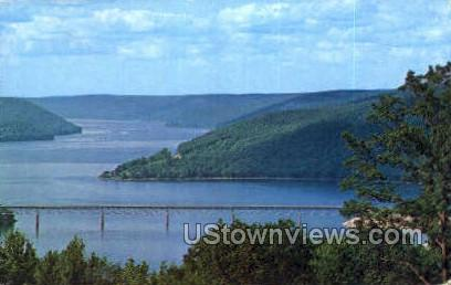 Cornplanter Bridge - Warren, Pennsylvania PA Postcard