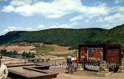 Allegheny Reservoir - Warren, Pennsylvania PA Postcard