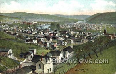 Warren, Pennsylvania, PA, Postcard