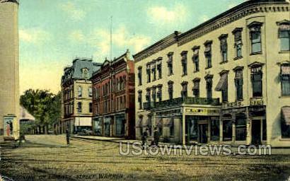 Liberty Street - Warren, Pennsylvania PA Postcard
