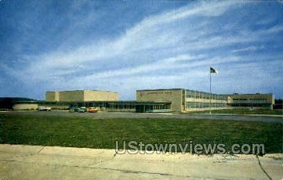 Dwight D. Eisenhower School - Warren, Pennsylvania PA Postcard