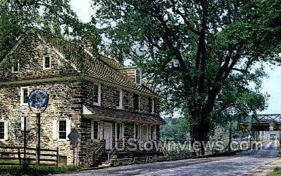 McConkey Ferry Inn - Washington, Pennsylvania PA Postcard