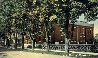 New Armory - Warren, Pennsylvania PA Postcard