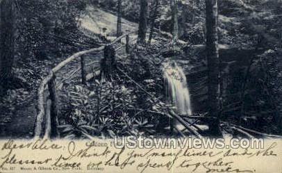 Caldeno Falls - Delaware Water Gap, Pennsylvania PA Postcard