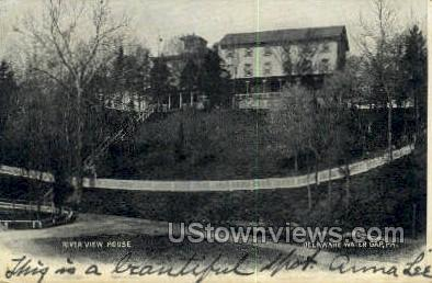 River View House - Delaware Water Gap, Pennsylvania PA Postcard