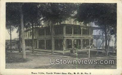 Turn Villa - Delaware Water Gap, Pennsylvania PA Postcard