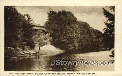 Silver Lake Tea House - Delaware Water Gap, Pennsylvania PA Postcard