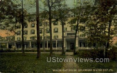 Water Gap House - Delaware Water Gap, Pennsylvania PA Postcard