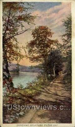 Driveway - Delaware Water Gap, Pennsylvania PA Postcard
