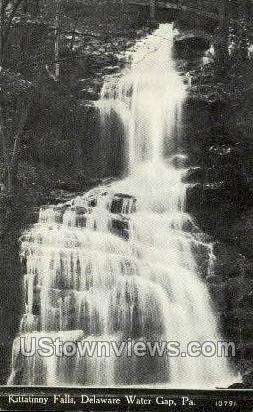 Kittatinny Falls - Delaware Water Gap, Pennsylvania PA Postcard