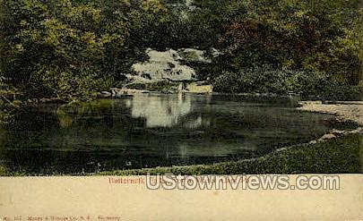 Buttermilk Falls - Delaware Water Gap, Pennsylvania PA Postcard