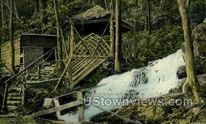 Childs Arbor, Burcks Glen - Delaware Water Gap, Pennsylvania PA Postcard