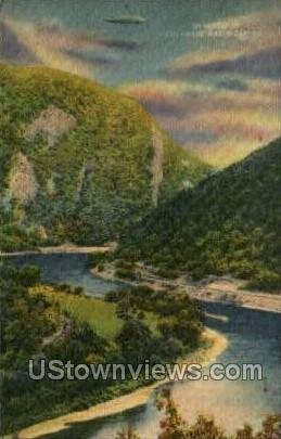 Promontory - Delaware Water Gap, Pennsylvania PA Postcard