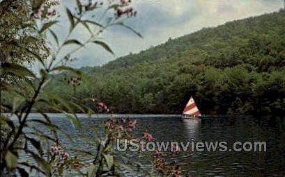 Hidden Lake - Delaware Water Gap, Pennsylvania PA Postcard