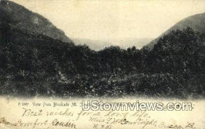 Blockade Mt. - Delaware Water Gap, Pennsylvania PA Postcard