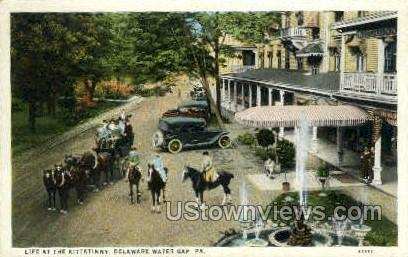 Kittatinny - Delaware Water Gap, Pennsylvania PA Postcard