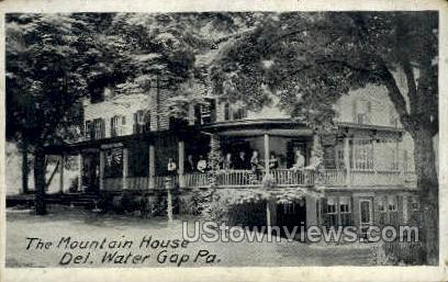 Mountain House - Delaware Water Gap, Pennsylvania PA Postcard