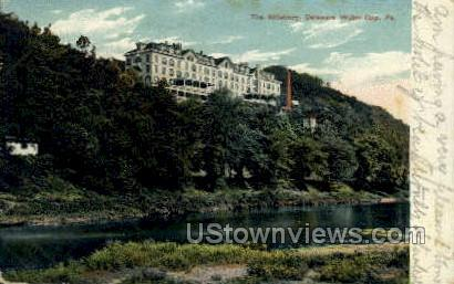 The Kittatinny - Delaware Water Gap, Pennsylvania PA Postcard